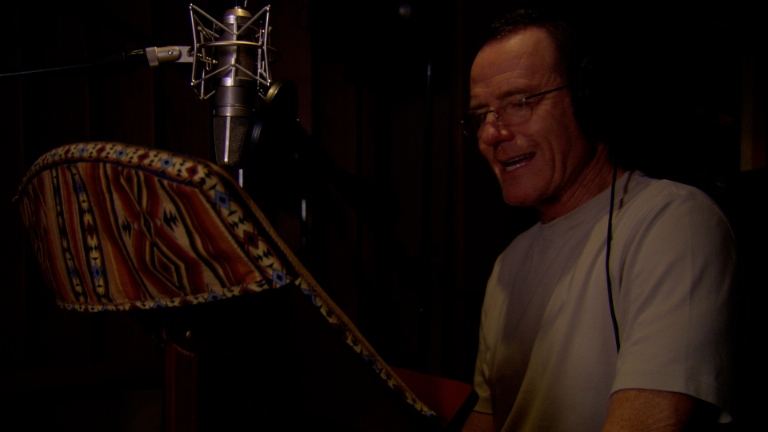 Bryan Cranston Recording At Double R Studios